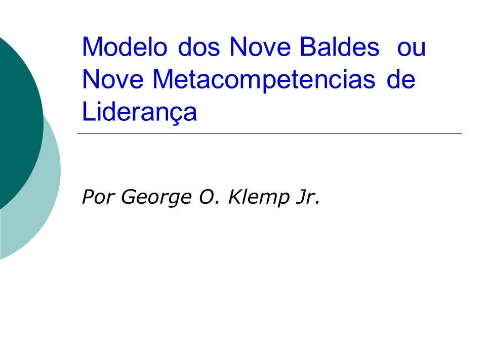 Modelo dos Nove Baldes ou Nove Metacompetencias de Liderança