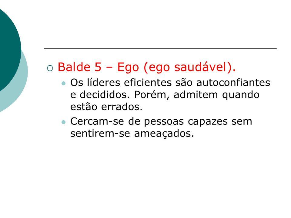 Balde 5 – Ego (ego saudável).