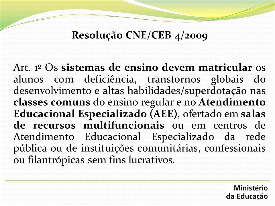 Resolução CNE/CEB 4/2009