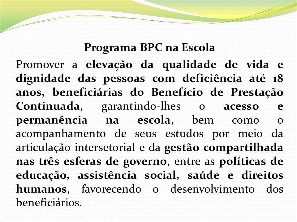 Programa BPC na Escola