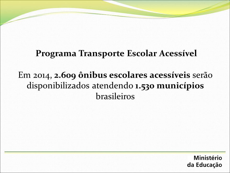 Programa Transporte Escolar Acessível