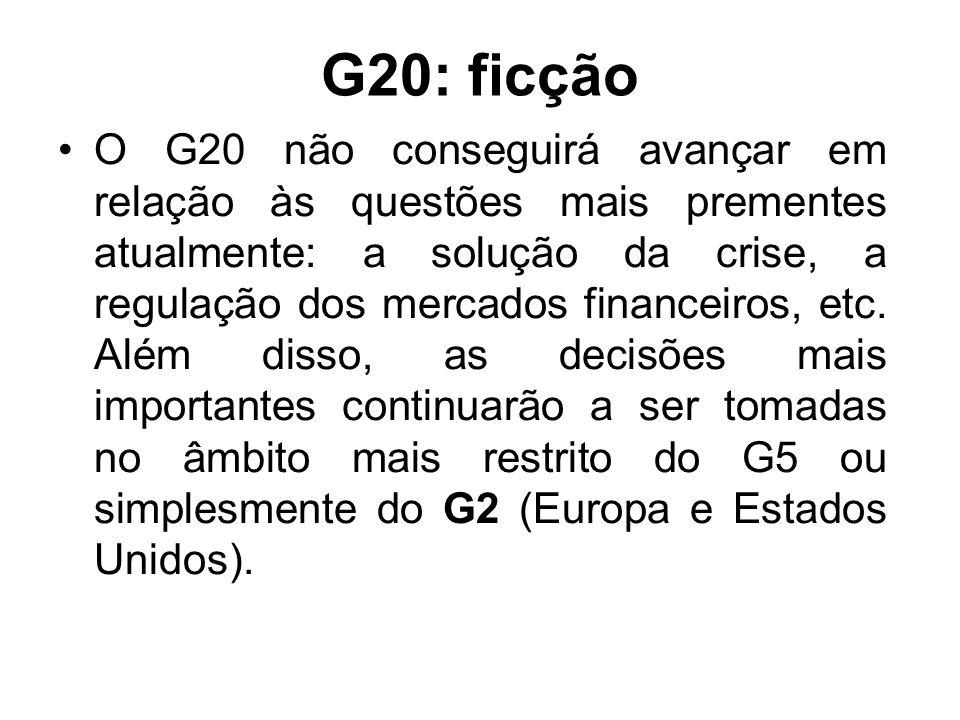 G20: ficção