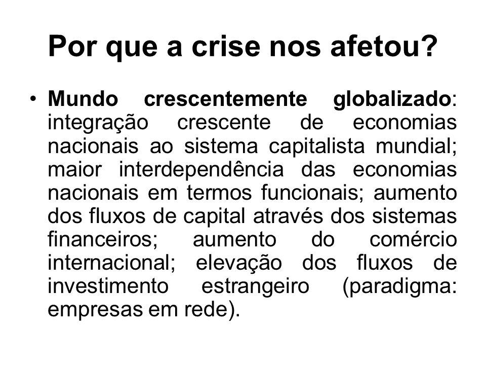Por que a crise nos afetou