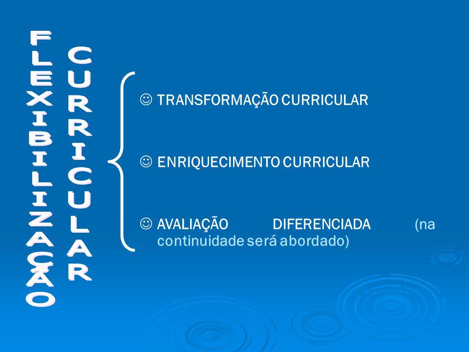 TRANSFORMAÇÃO CURRICULAR