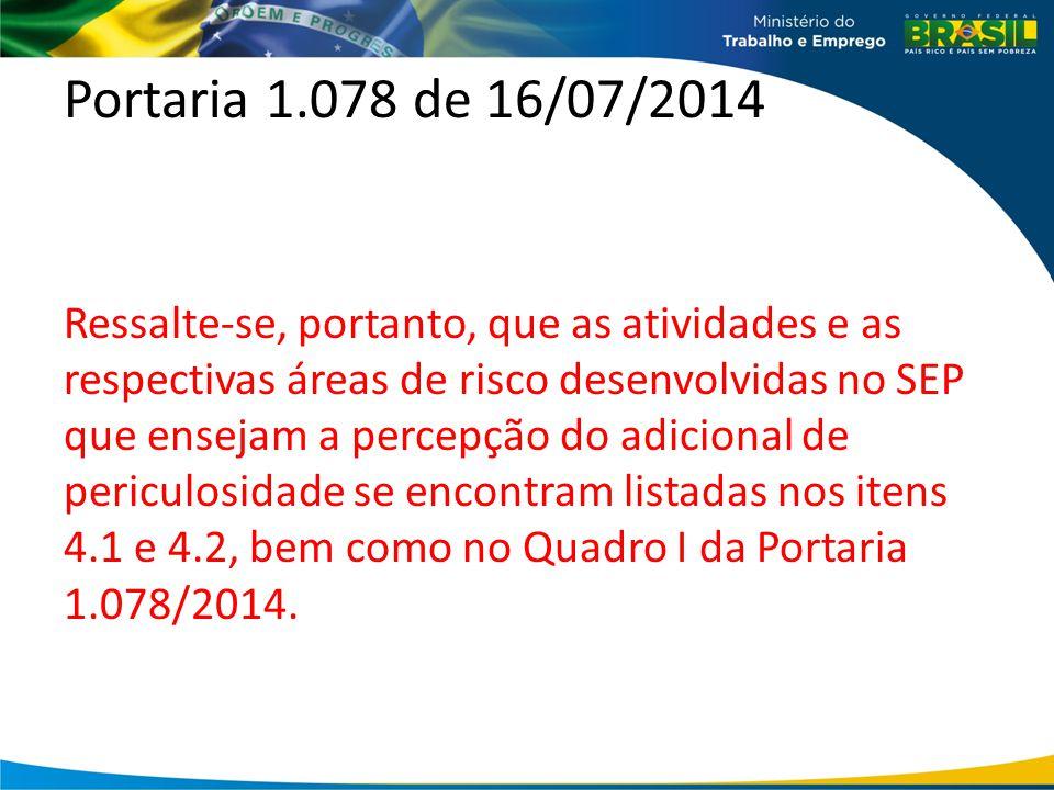 Portaria 1.078 de 16/07/2014