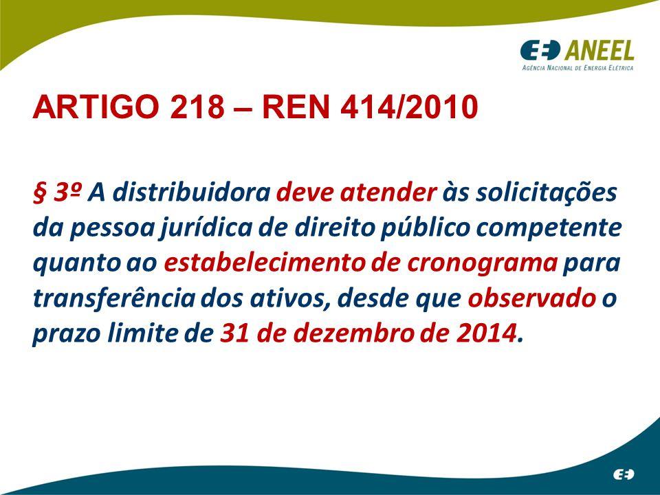 ARTIGO 218 – REN 414/2010