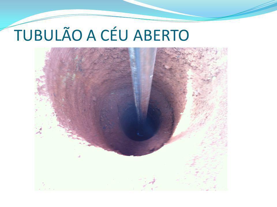 TUBULÃO A CÉU ABERTO