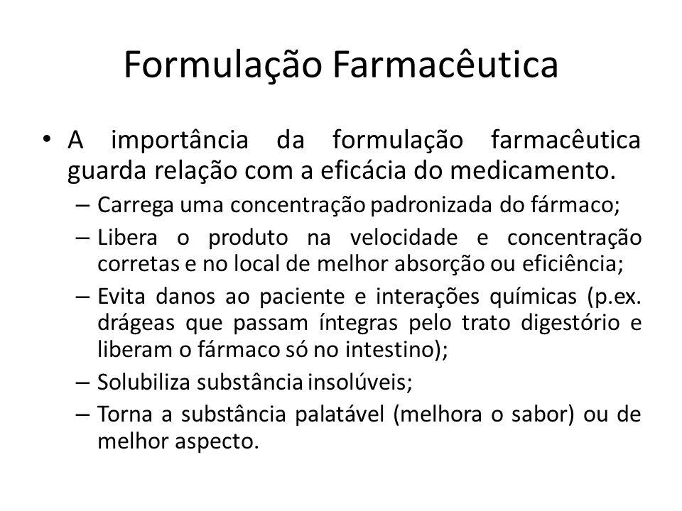 Formulação Farmacêutica