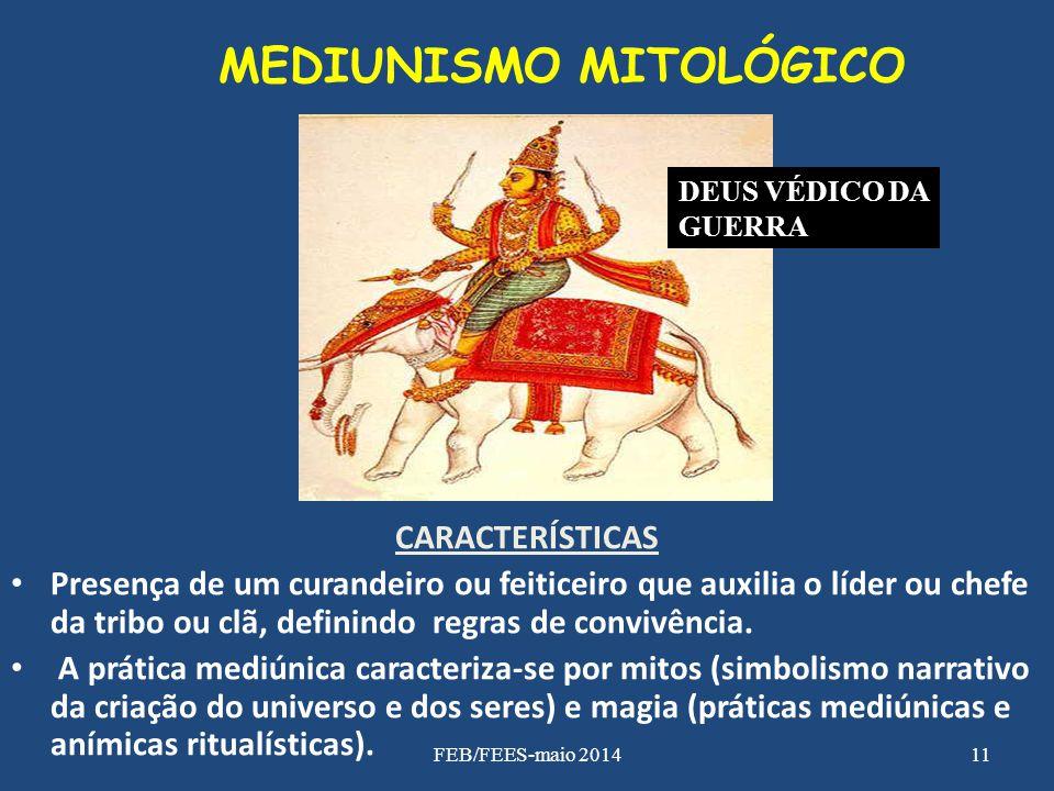 MEDIUNISMO MITOLÓGICO