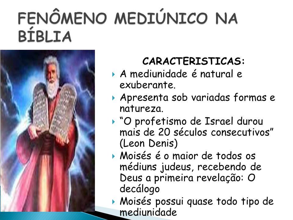 FENÔMENO MEDIÚNICO NA BÍBLIA