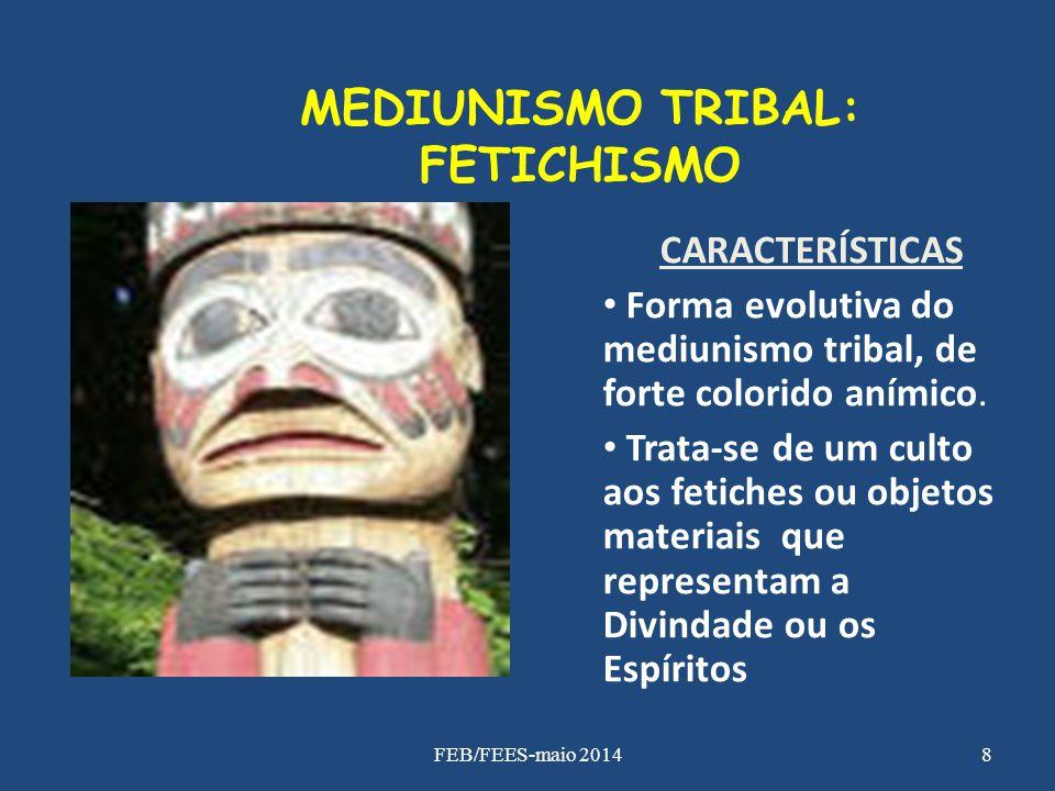 MEDIUNISMO TRIBAL: FETICHISMO
