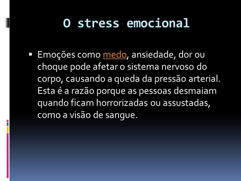O stress emocional