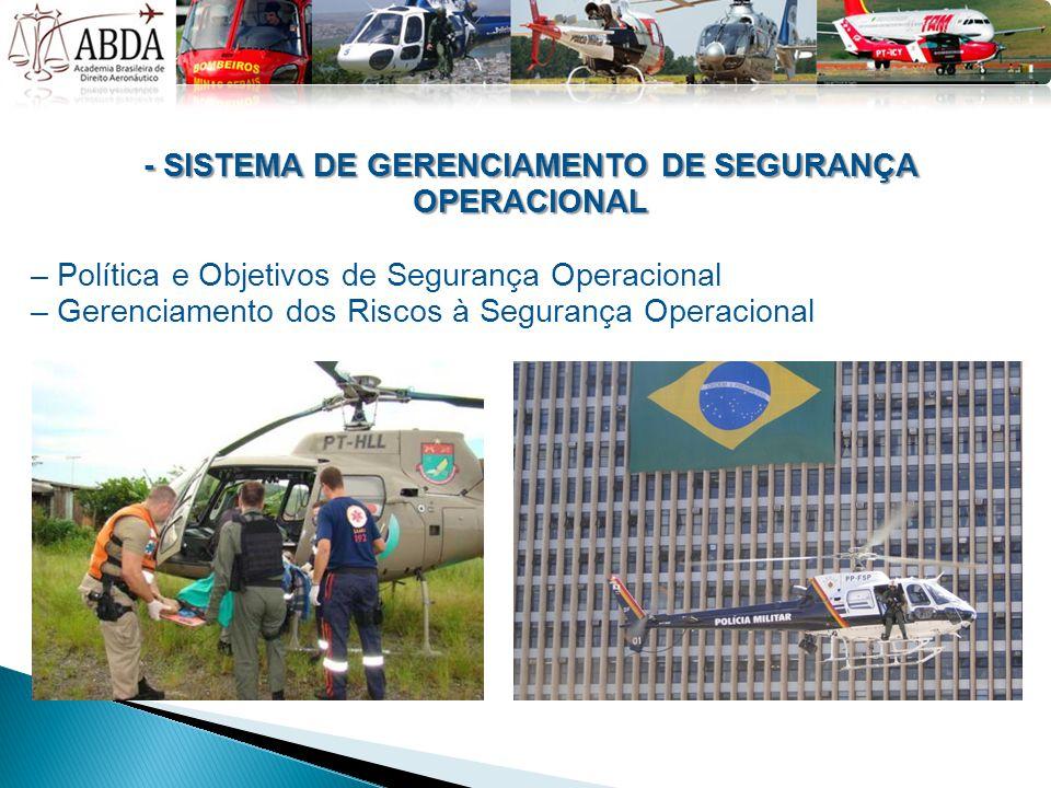 - SISTEMA DE GERENCIAMENTO DE SEGURANÇA OPERACIONAL