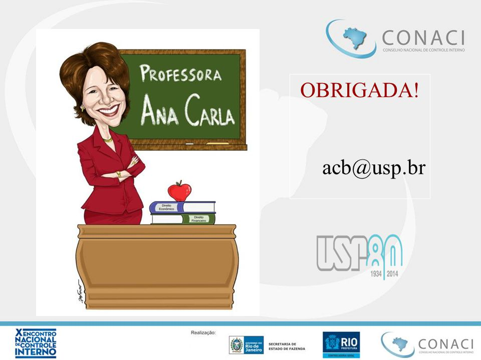 OBRIGADA! acb@usp.br
