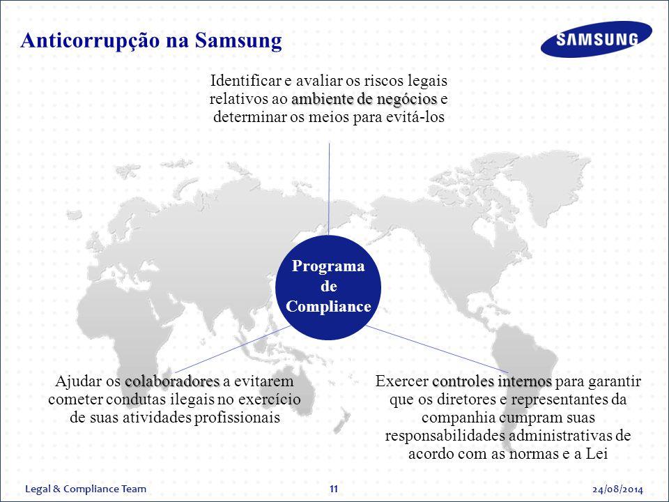 Anticorrupção na Samsung