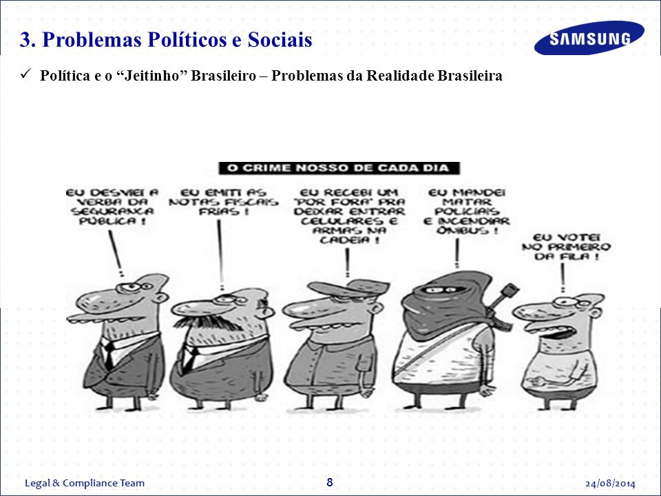 3. Problemas Políticos e Sociais