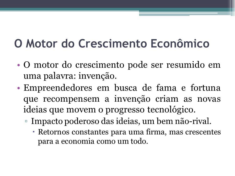 O Motor do Crescimento Econômico