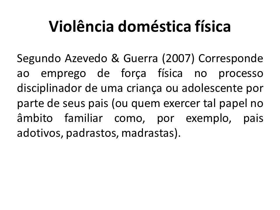 Violência doméstica física