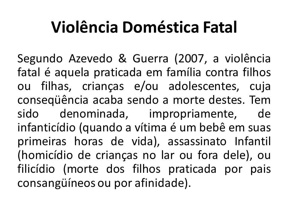 Violência Doméstica Fatal