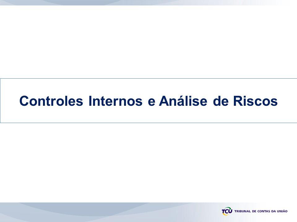 Controles Internos e Análise de Riscos