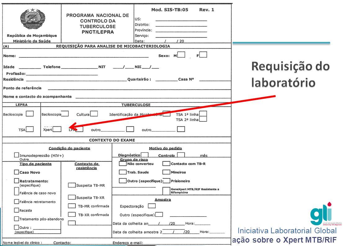 Requisição do laboratório
