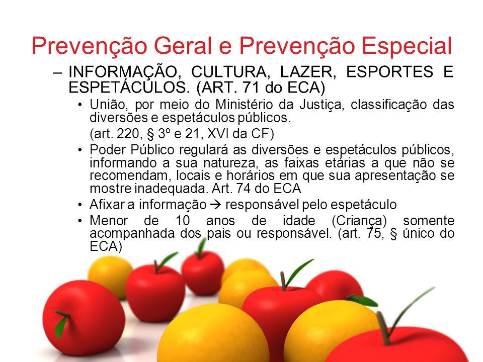 Prevenção Geral e Prevenção Especial