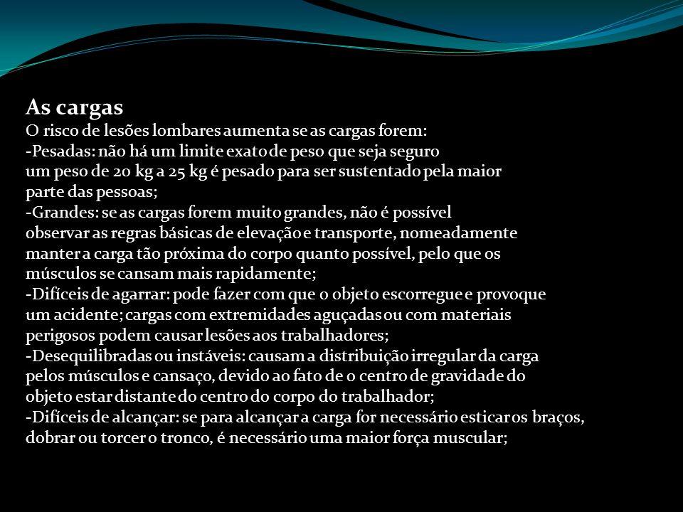 As cargas Prof. Sérgio Amaral