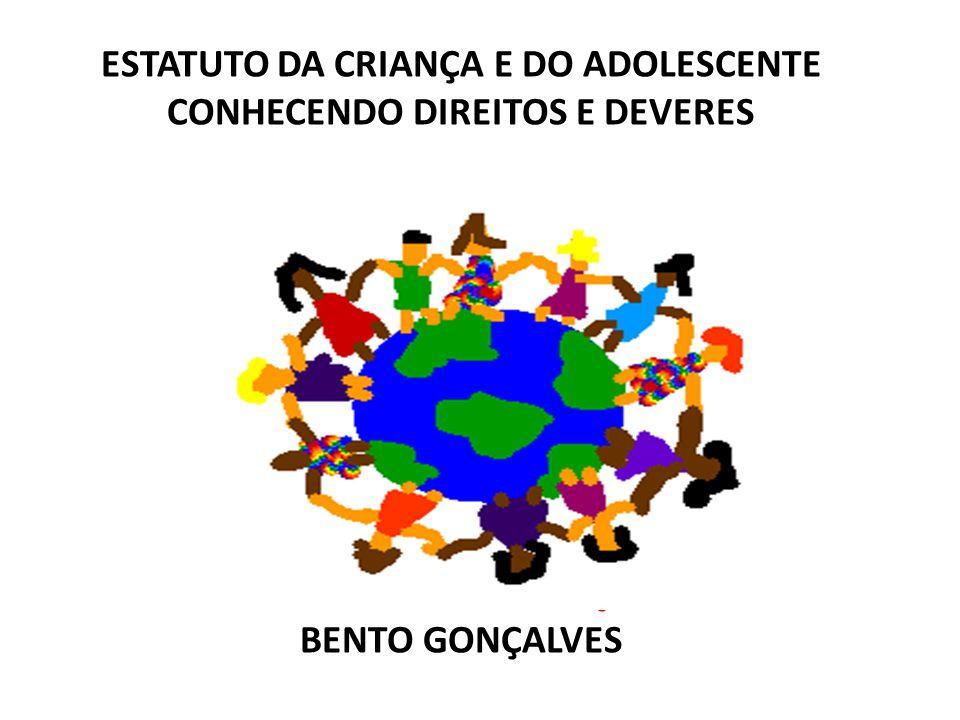 ESTATUTO DA CRIANÇA E DO ADOLESCENTE CONHECENDO DIREITOS E DEVERES