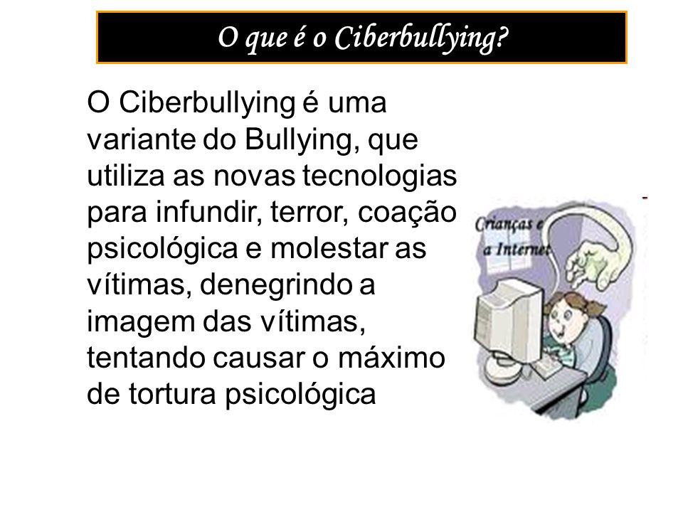 O que é o Ciberbullying