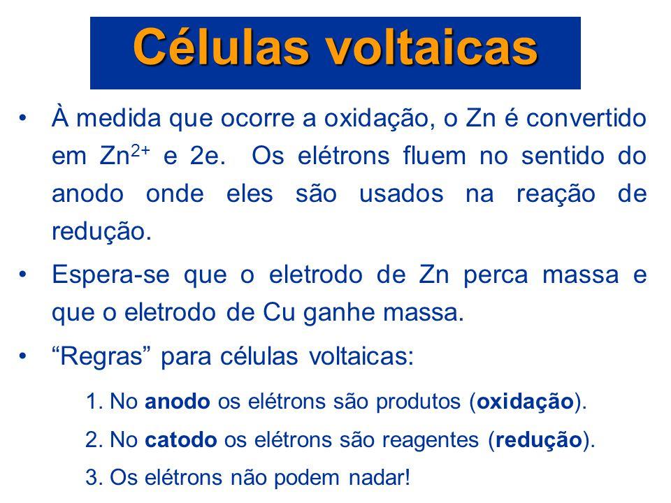 Células voltaicas