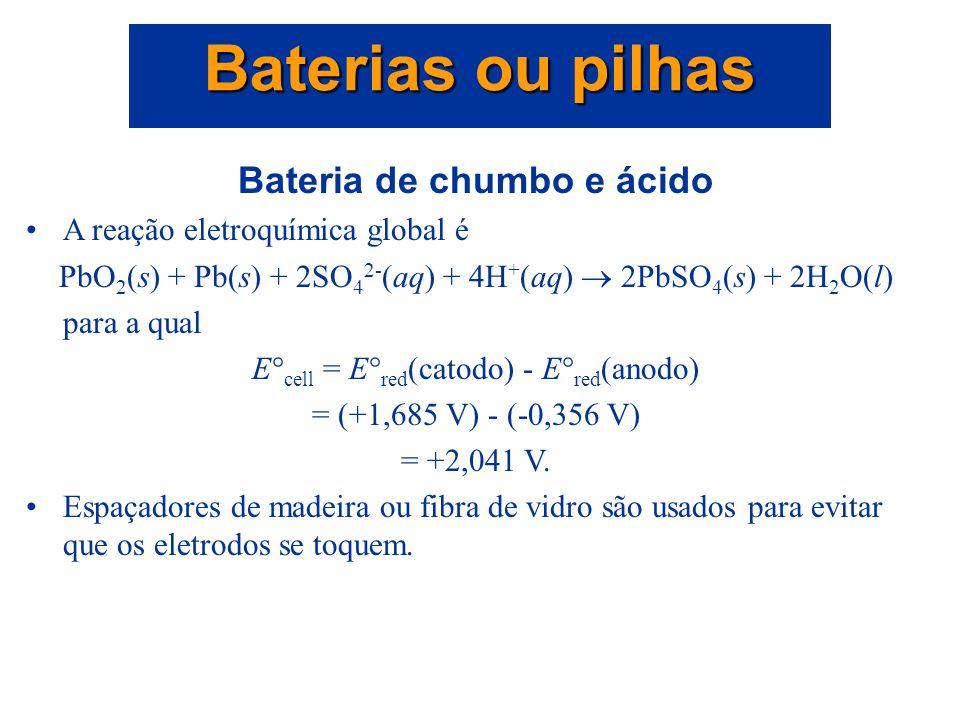 Bateria de chumbo e ácido