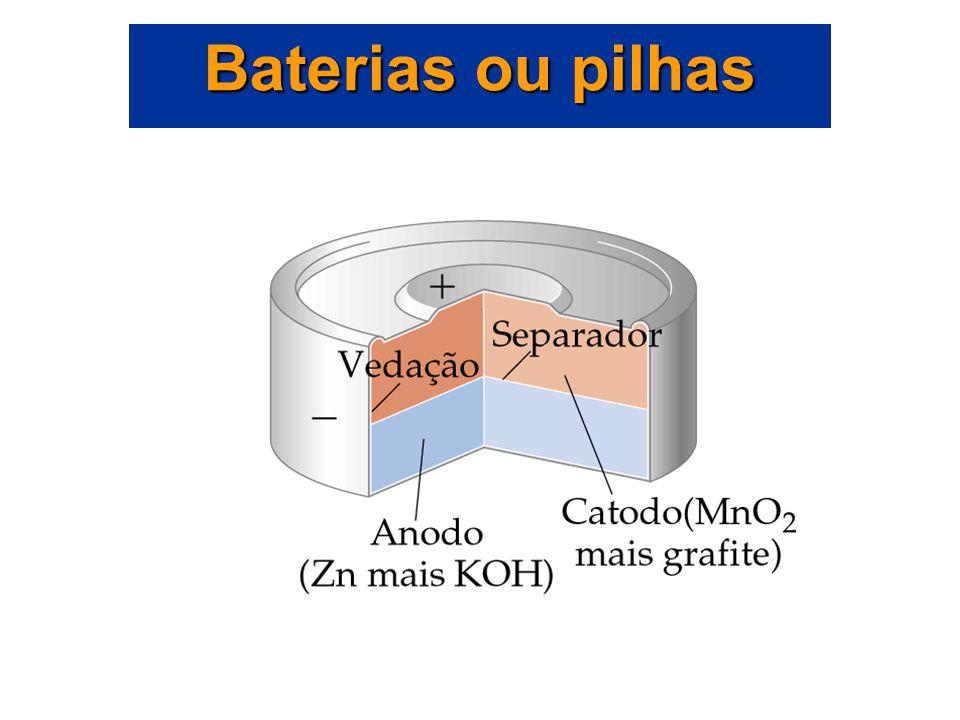 Baterias ou pilhas