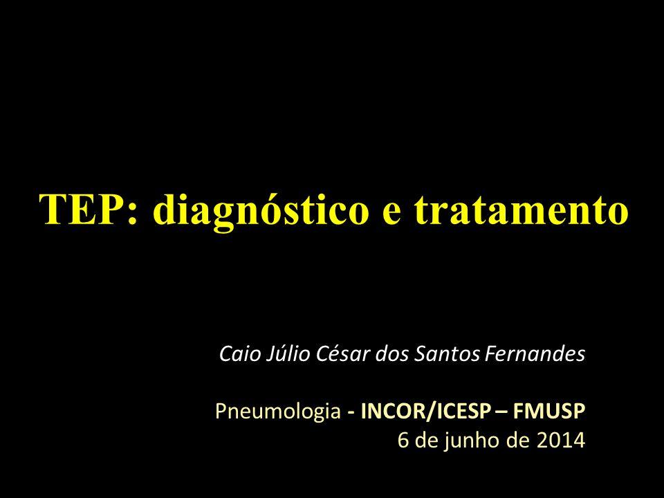 TEP: diagnóstico e tratamento