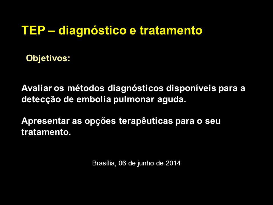 TEP – diagnóstico e tratamento