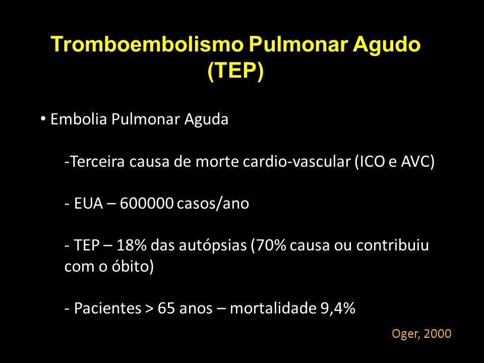 Tromboembolismo Pulmonar Agudo (TEP)