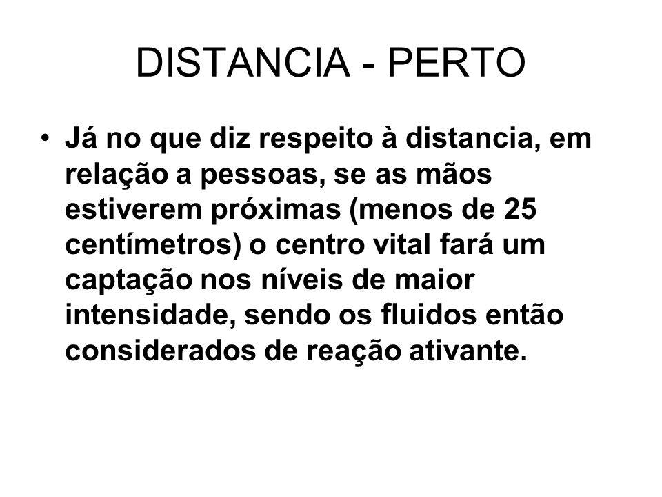 DISTANCIA - PERTO