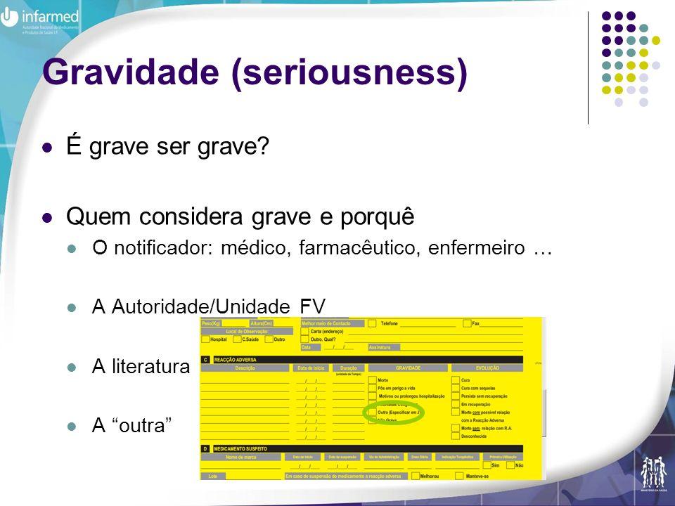 Gravidade (seriousness)
