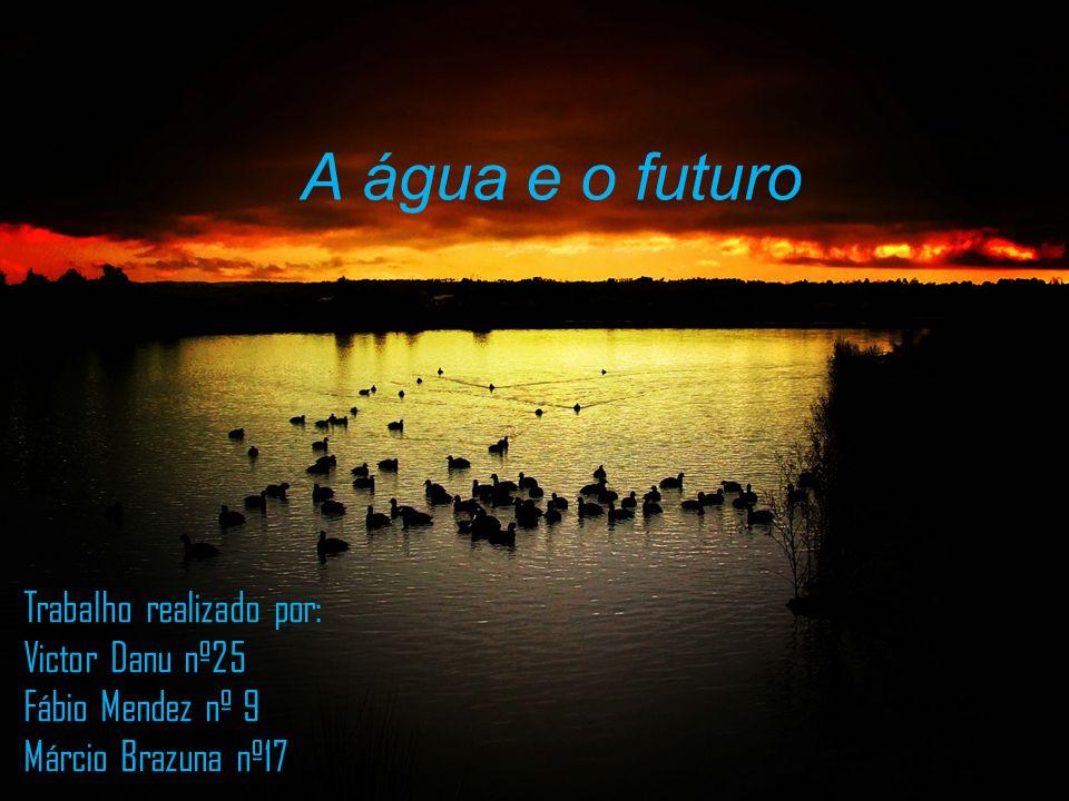 A água e o futuro Trabalho realizado por: Victor Danu nº25