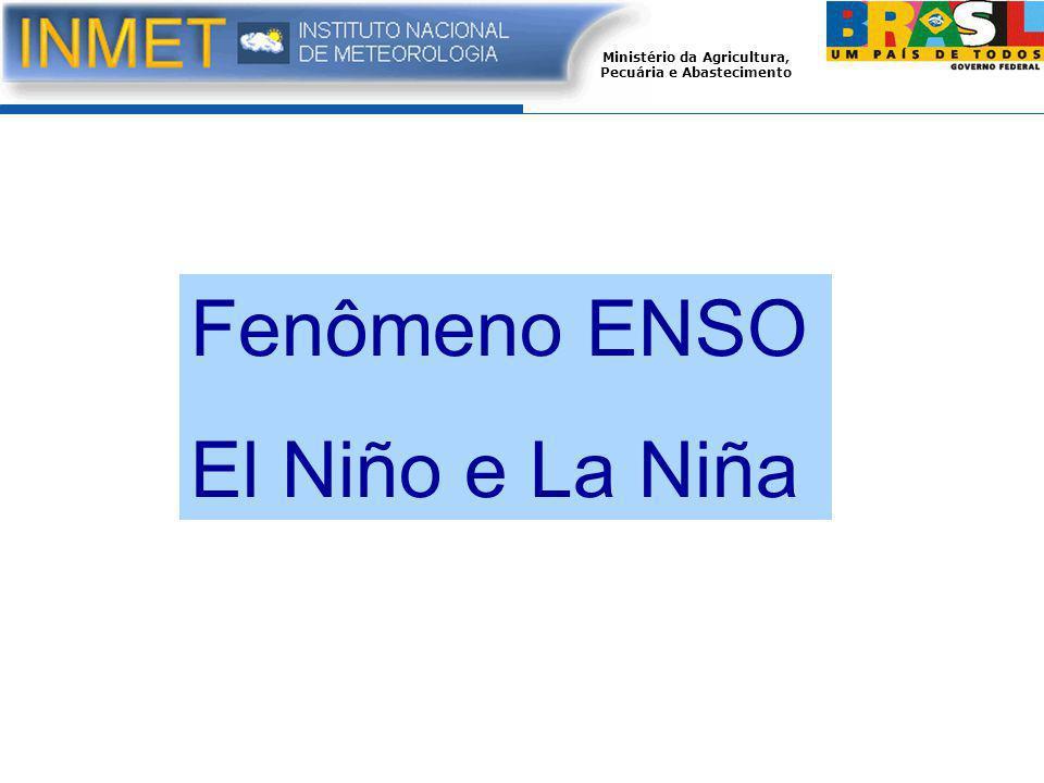 Fenômeno ENSO El Niño e La Niña