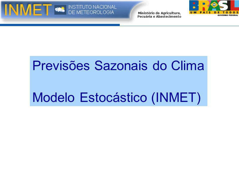 Previsões Sazonais do Clima