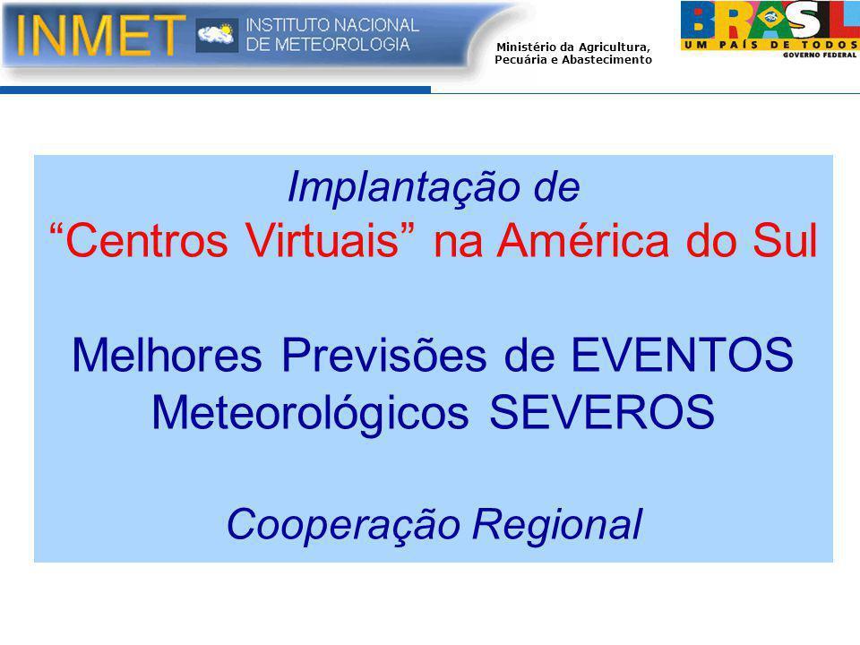 Centros Virtuais na América do Sul