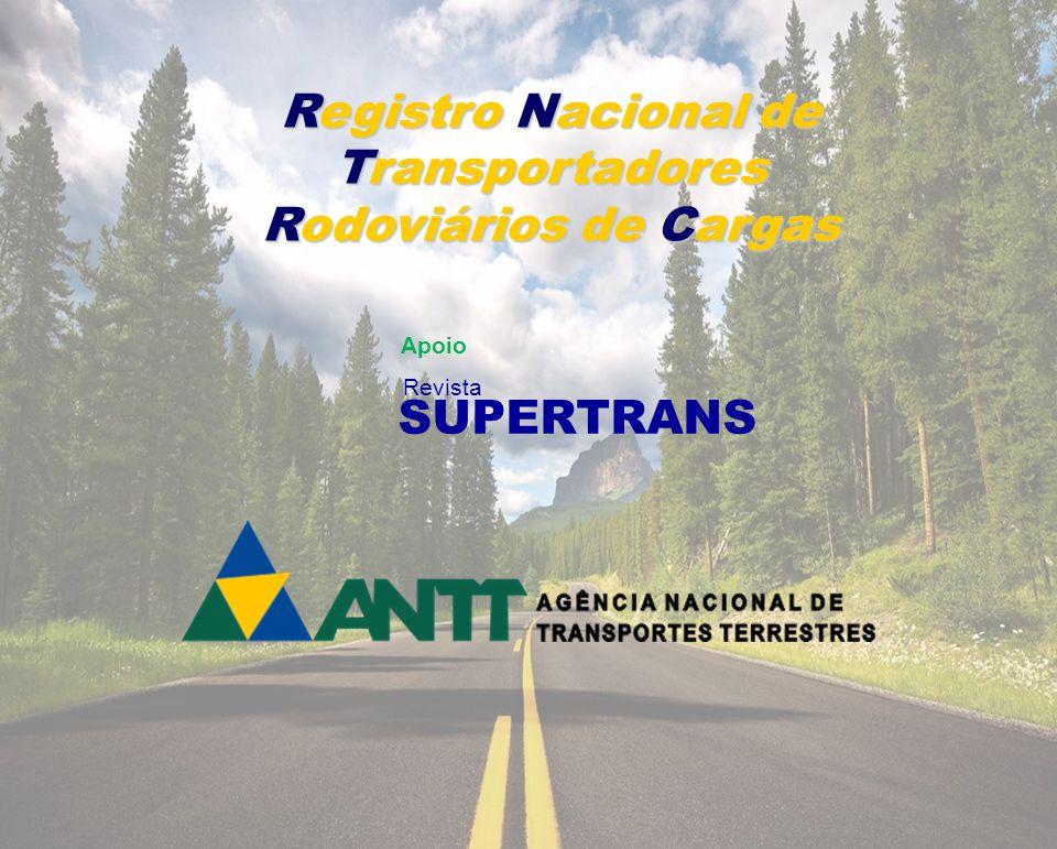 Registro Nacional de Transportadores Rodoviários de Cargas