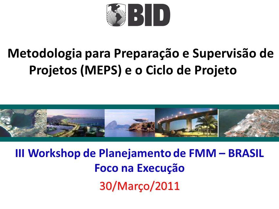 III Workshop de Planejamento de FMM – BRASIL