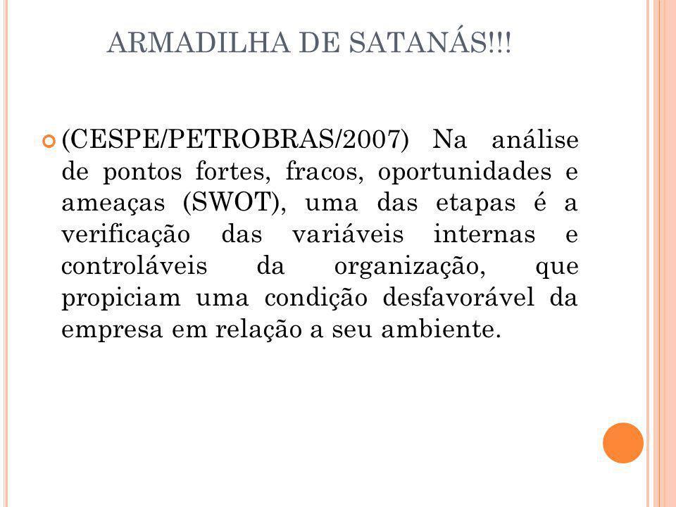 ARMADILHA DE SATANÁS!!!