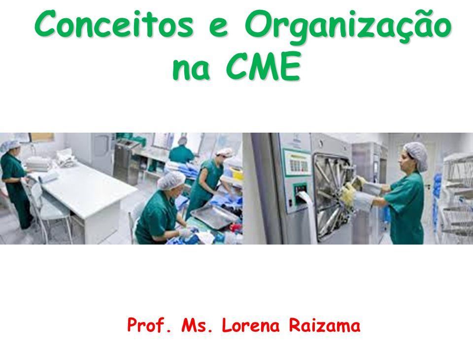 Conceitos e Organização na CME