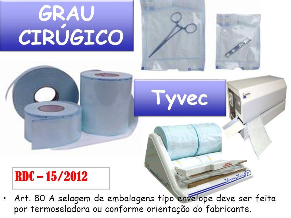 GRAU CIRÚGICO Tyvec RDC – 15/2012