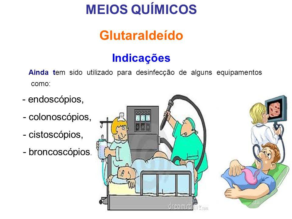 MEIOS QUÍMICOS Glutaraldeído