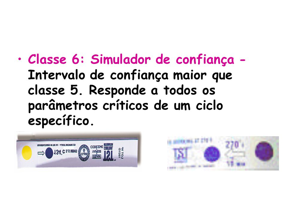 Classe 6: Simulador de confiança - Intervalo de confiança maior que classe 5.