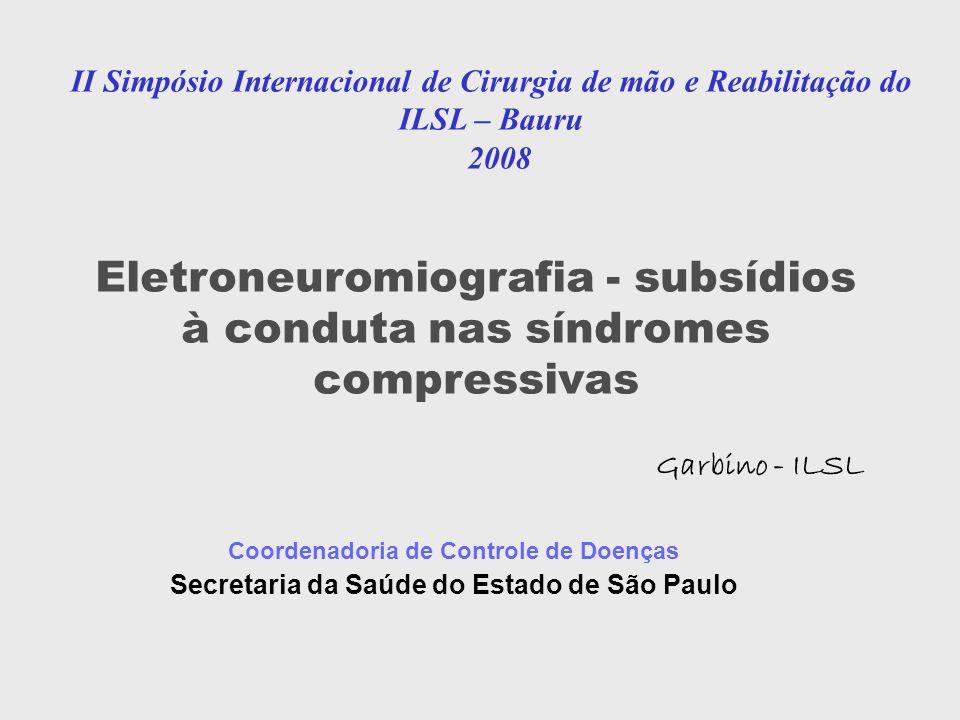 Eletroneuromiografia - subsídios à conduta nas síndromes compressivas