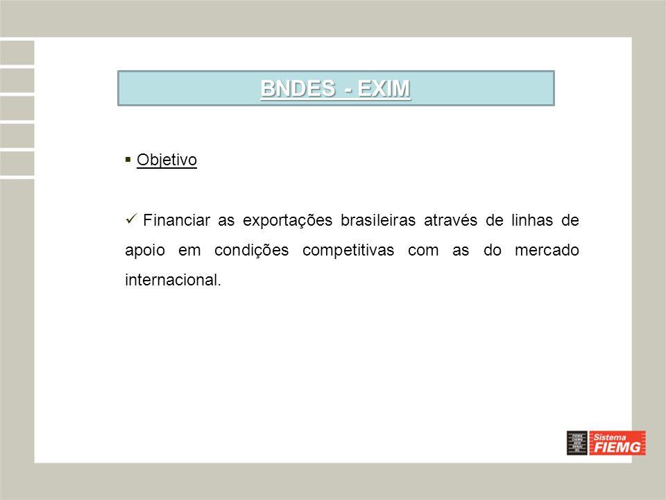 BNDES - EXIM Objetivo.